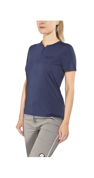 POC Trail Light Tee Women Zip boron blue